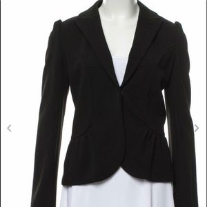 Diane Von Furstenberg wool Lena blazer